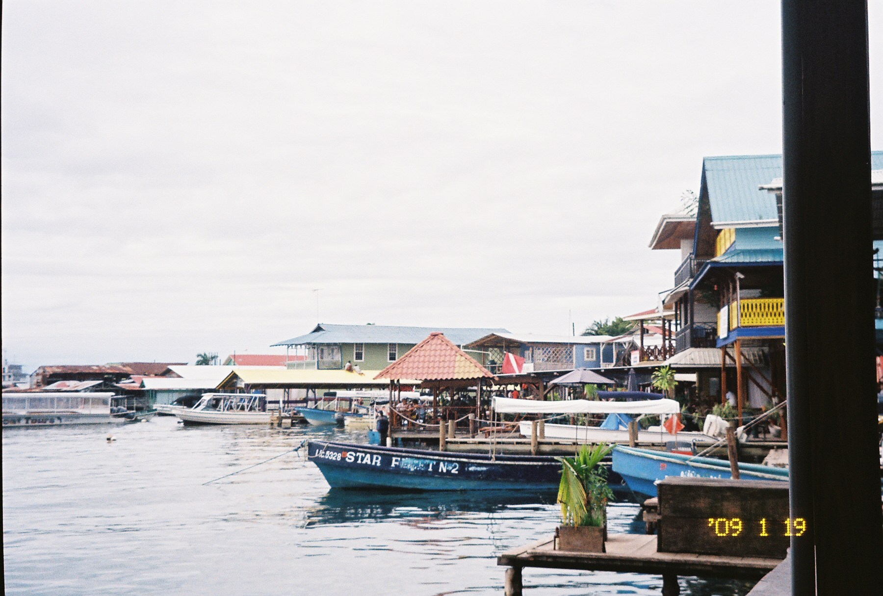 Day trips on boats to Bastimientos, Red Frog Beach,and Isla Popa are favorite tourist attractions in Bocas Del Toro